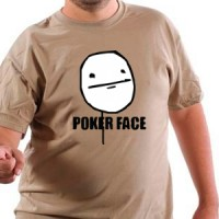 Majica Poker face
