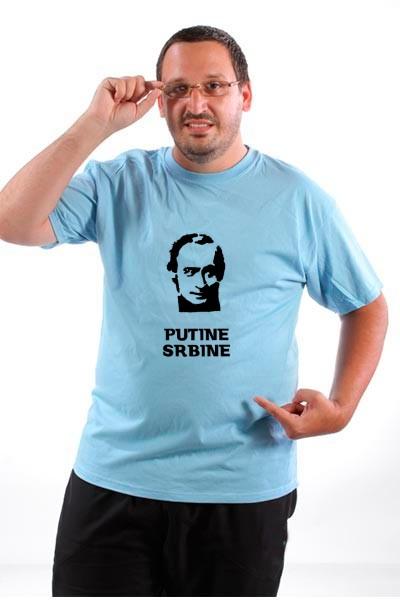 Majica Putin Srbin.