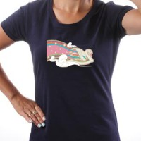 Majica Rainbow Swan