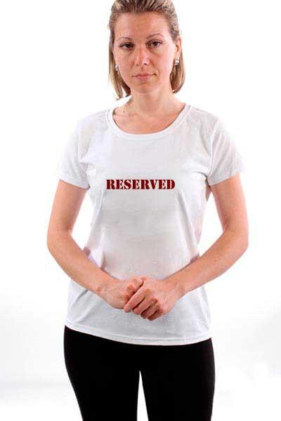 Majica Reserved.