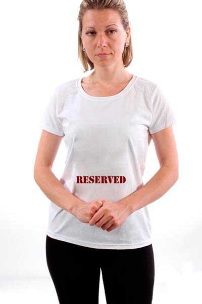 Majica Rezervisano.