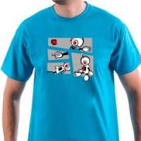 Majica Robo puzzle