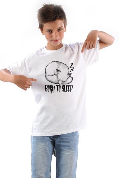 Majica Rodjen da spava