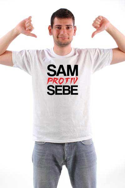 Majica Sam protiv sebe