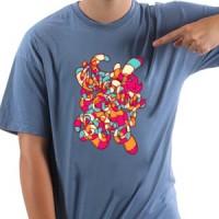 Majica Sarena laza