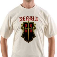 Majica Serbia