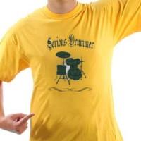 Majica Serious Drummer