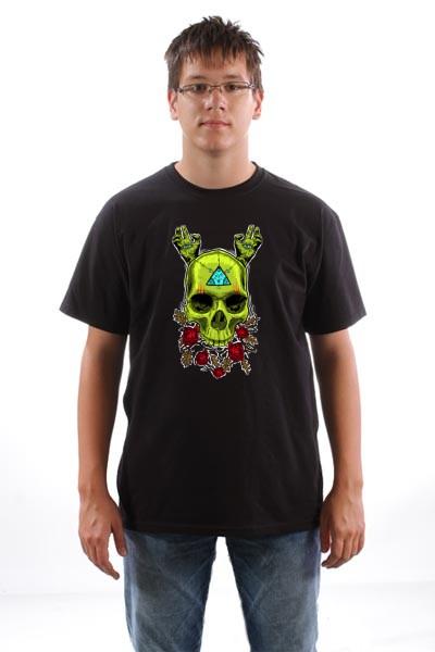 Majica Skull Rose