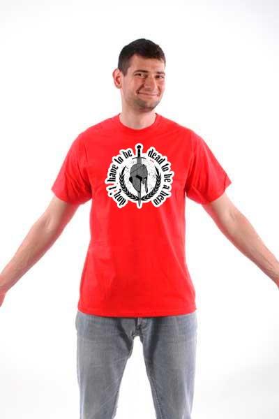 Majica Spartanski šlem