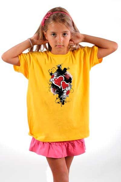 Majica Srca i Cvetici