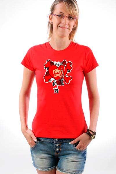 Majica Srce bodljikava žica
