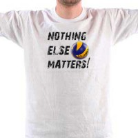 Majica VOLLEYBALL. NOTHNIG ELSE MATTERS.