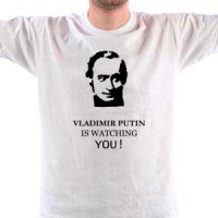 Majica Vladimir Putin is watching You.
