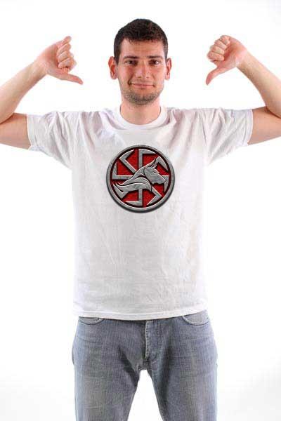 Majica Vuk i kolovrat