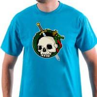 Majica Zmaj i lobanja