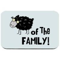 Mouse pad Crna ovca porodice