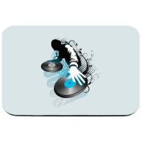Mouse pad DJ mikseta