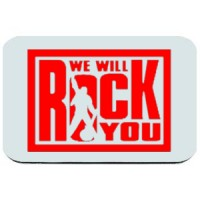 Mouse pad We Will Rock You | Rock
