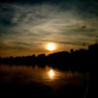 Platno Zalazak sunca