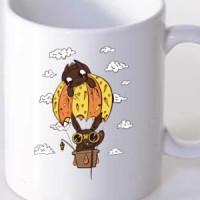 Šolja Cute bunny baloon