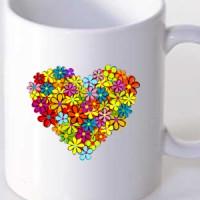 Šolja Cvetno srce