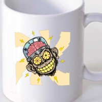 Evil brain monkey
