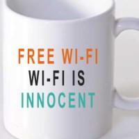 Šolja Free Wi-Fi