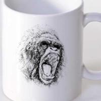 Šolja Gorilla Sketch