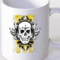 Šolja Grunge Skull