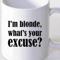 Šolja I m Blonde