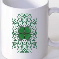 Irish Tribal Clover