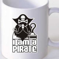 Šolja Ja sam pirat