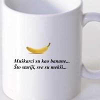 Šolja Kao banane.