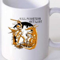 Kill the monster get the loot