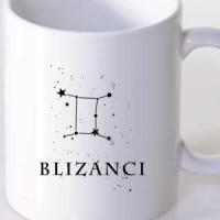 Šolja Majica Blizanci Horoskopski Znak