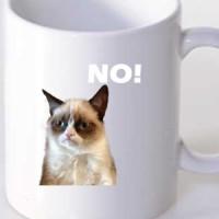 Šolja Mrzovoljna mačka - Grumpy cat
