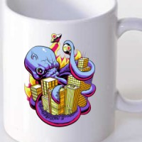 Octopus attack the city
