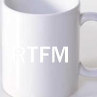 Šolja RTFM