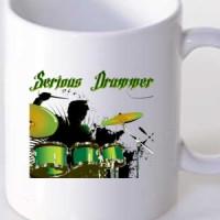 Serious Drummer