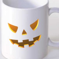 Šolja Spooky Face