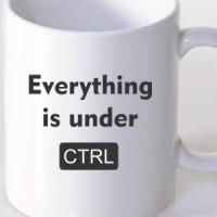 Šolja Sve je pod CTRL