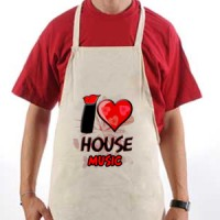 Apron I Love House Music | House | Music