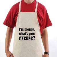 Apron I M Blonde