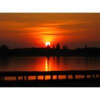 Canvas Sunset sunset