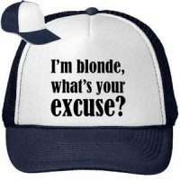 Cap I M Blonde