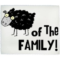 Cleaning cloth Black Sheep Of The Family
