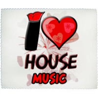 Cleaning cloth I Love House Music | House | Music