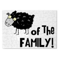Magnetic puzzle Black Sheep Of The Family