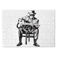 Magnetic puzzle Bluesman