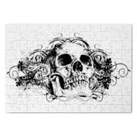 Magnetic puzzle Skull 10